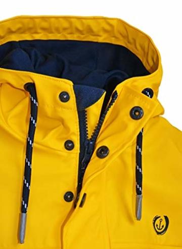 MADSea Herren Regenjacke Friesennerz Gelb, Farbe:gelb, Größe:5XL - 2