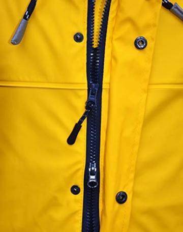 MADSea Herren Regenjacke Friesennerz Gelb, Farbe:gelb, Größe:5XL - 5