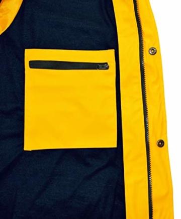 MADSea Herren Regenjacke Friesennerz Gelb, Farbe:gelb, Größe:5XL - 6