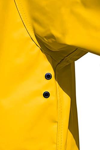 MADSea Herren Regenjacke Friesennerz Gelb, Farbe:gelb, Größe:5XL - 7