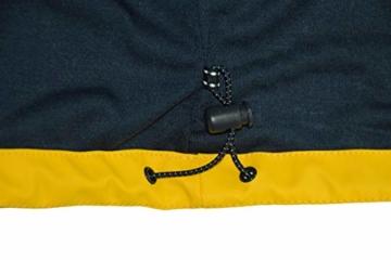 MADSea Herren Regenjacke Friesennerz Gelb, Farbe:gelb, Größe:5XL - 8