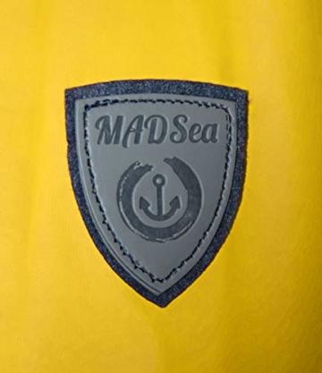 MADSea Herren Regenjacke Friesennerz Gelb, Farbe:gelb, Größe:5XL - 9