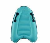 maimai Aufblasbares Surfbrett für Wasserrutschen, Leichtes Bodyboard, Kinder-Bodyboard mit Griffen, Bodyboard-Surfbrett, Board für Schwimmbad, Surfbretter Schwimmen (Blau) - 1