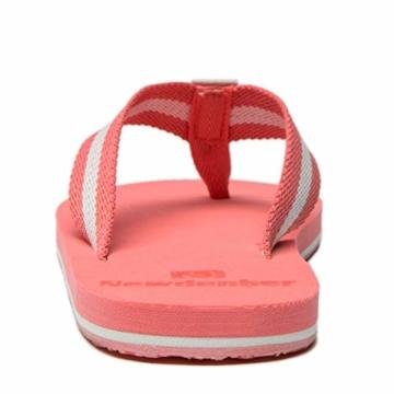 NewDenBer NDB Classic Plush Daman Flip Flips (38 EU, Rosa Pink) - 2