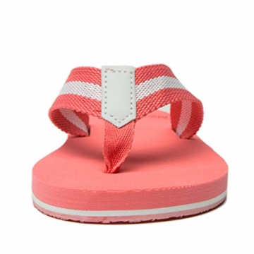 NewDenBer NDB Classic Plush Daman Flip Flips (38 EU, Rosa Pink) - 4