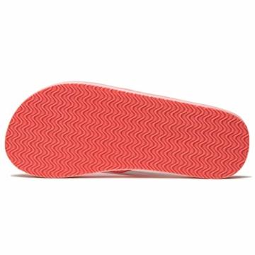NewDenBer NDB Classic Plush Daman Flip Flips (38 EU, Rosa Pink) - 5