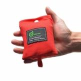 Odoland Picknickdecke 110 x 160 cm Stranddecke wasserdichte Sandabweisende Tragbare Camingmatte Ultraleicht Kompakt Strandtuch für BBQ, Strand, Reisen, Camping und Picknick - 1
