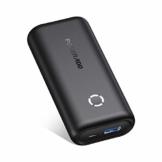 POWERADD Powerbank EnergyCell 10000mAh Mini Externer Akku USB Power Bank Kompaktes Leichtes Tragbares Ladegerät für Handy, iPhone iPad Samsung Galaxy Huawei und Andere Smartphones-Schwarz - 1