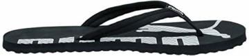 Puma Unisex-Erwachsene Epic Flip V2 Dusch- und Badeschuhe, Schwarz (Black-White), 39 EU - 7