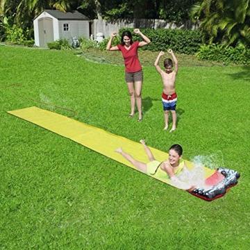QYHSS Kinder einweichen Spritzen, Aqua Garden Wasserrutsche Sprühsprinkler, Pool Spielzeug, muss für diesen Sommer haben, Outdoor-Garten Spaß, für Familien, Pool-Partys (480 * 70CM) - 2