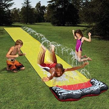 QYHSS Kinder einweichen Spritzen, Aqua Garden Wasserrutsche Sprühsprinkler, Pool Spielzeug, muss für diesen Sommer haben, Outdoor-Garten Spaß, für Familien, Pool-Partys (480 * 70CM) - 1