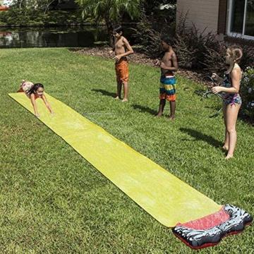 QYHSS Kinder einweichen Spritzen, Aqua Garden Wasserrutsche Sprühsprinkler, Pool Spielzeug, muss für diesen Sommer haben, Outdoor-Garten Spaß, für Familien, Pool-Partys (480 * 70CM) - 5