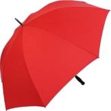 RS-Golfschirm Fiber-XXL extra groß und stabil mit Fiberglas-Streben- rot - 1