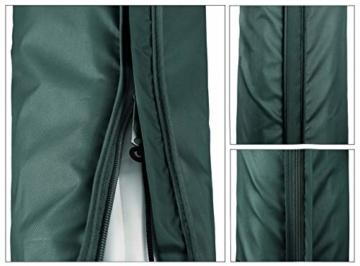Sekey® Schutzhülle für Ampelschirm/Sonnenschirm,Abdeckhauben für Sonnenschirm, 100% Polyester - 5