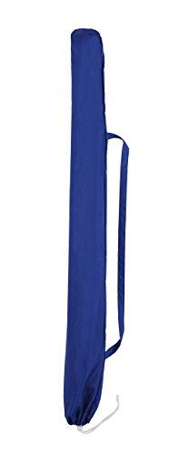 Sekey® Sonnenschirm 160 cm Marktschirm Gartenschirm Terrassenschirm Blau Rund Sonnenschutz UV20+ - 6