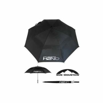 Sun Mountain Unisex H2NO Golfschirm, schwarz, 157,5 cm - 2