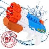 Sunshine smile 4er Düsen Wasserspritzpistole Wasserpistole Wasserspritze Mini Schaumstoff Spritzpistole für Kinder als Mitgebsel - 1