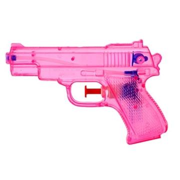 TE-Trend 6 Stück Wasserpistolen Spritzpistolen Set 13 cm Kindergeburtstag Party Mitgebsel - 2