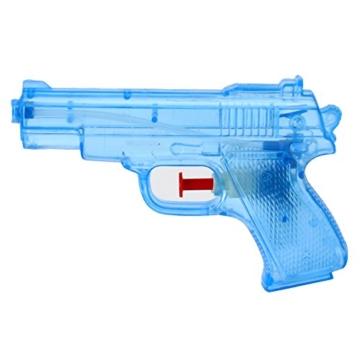 TE-Trend 6 Stück Wasserpistolen Spritzpistolen Set 13 cm Kindergeburtstag Party Mitgebsel - 4