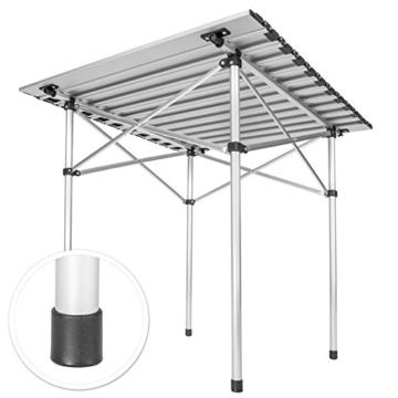TecTake Klapptisch Campingtisch Gartentisch Campingmöbel - Diverse Modelle - (70x70x70cm (Model 401169)) - 3