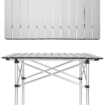TecTake Klapptisch Campingtisch Gartentisch Campingmöbel - Diverse Modelle - (70x70x70cm (Model 401169)) - 5