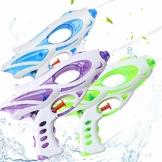 Zaloife Wasserpistole, 3 Stücke Super Water Gun, Wasserpistolen für Kinder und Erwachsene Party Water Blaster für Sommer Strand Pool Spielzeug - 1