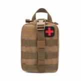 Ballylelly Outdoor Tactical Medical Bag Reiseapotheke Multifunktionale Hüfttasche Camping Klettern Tasche Notfallkoffer Survival Kit - 1