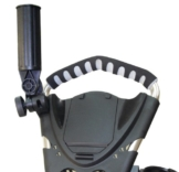 Ezeglide Eze Glide Unisex-Erwachsene Golf Zubehör Multi Fit RegenschirmHalter, Schwarz - 1