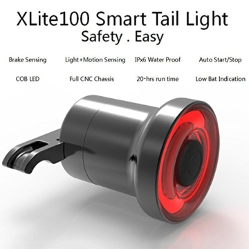 Fiveschoice LED Fahrradlicht USB Wiederaufladbare LED Fahrradbeleuchtung Fahrradlampe LED Rücklicht USB Fahrradlichter - 4
