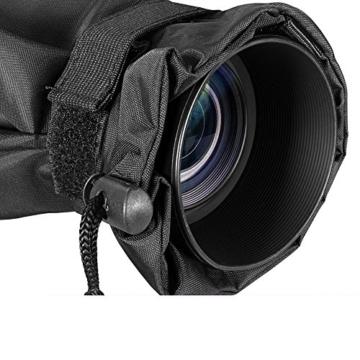 Kingwon Kamera-Regenjacke, Regenjacke, wasserdicht, Regenschutz für Canon, Nikon, Sony, Olympus, Panasonic und Pentax Digitale Spiegelreflexkameras - 4