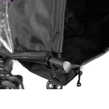 Kingwon Kamera-Regenjacke, Regenjacke, wasserdicht, Regenschutz für Canon, Nikon, Sony, Olympus, Panasonic und Pentax Digitale Spiegelreflexkameras - 6