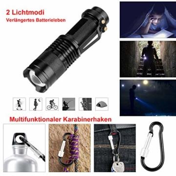 LC-dolida Survival Kit 15 in 1, Außen Notfall Survival Kit mit Messer/Taktische Taschenlampe für Camping/Bushcraft/Wandern/Jagden/Outdoor Abenteuer - 6