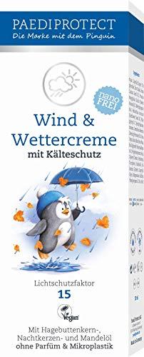 PAEDIPROTECT Wind & Wettercreme für Babys, Kinder und Erwachsene (1x30ml) mit Lichtschutzfaktor 15 - 1