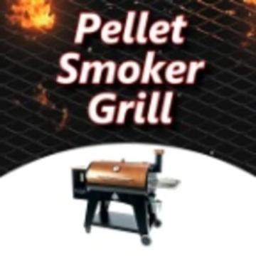 Pellet Smoker Grill - 1