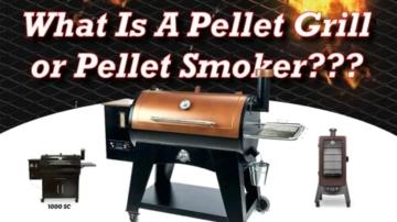 Pellet Smoker Grill - 12