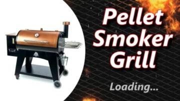 Pellet Smoker Grill - 6