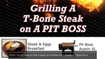 Pellet Smoker Grill - 8