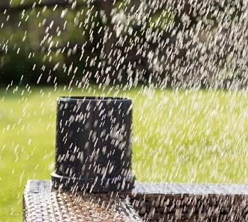 POPP POPE700168 Z-Rain Regensensor Regenmesser, 1.5 V, Grau, 15.5 x 14.1 x 13.8 cm - 4