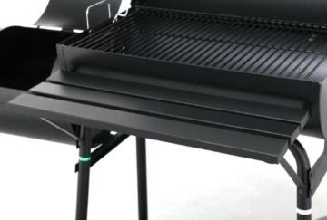 Tepro Holzkohlengrill Smoker Biloxi, Schwarz - 4