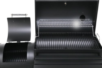 Tepro Holzkohlengrill Smoker Biloxi, Schwarz - 9