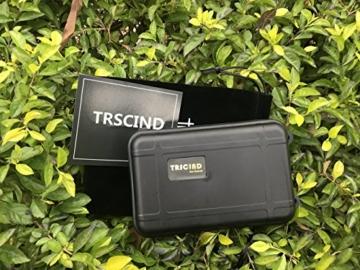 TRSCIND Survival Kit Set, Camping und Reisen - Notfall Set mit Klappmesser, Feuerstarter, Taschenlampe, Tactical Pen und Weiterem Zubehör - 5