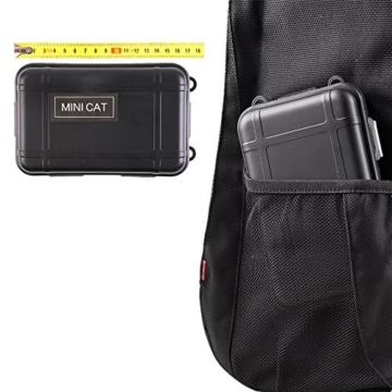 TRSCIND Survival Kit Set, Camping und Reisen - Notfall Set mit Klappmesser, Feuerstarter, Taschenlampe, Tactical Pen und Weiterem Zubehör - 6