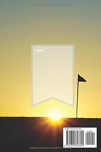 Unschlagbar Dein Golfbuch: Golfer sind gute Schläger, Dein Golfnotizbuch für die Notizen und Bilder deines Tages, Notizheft im coolen Design, Punkteraster, 120 Seiten, - 2