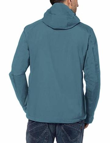 VAUDE Herren Jacke Men's Escape Light, Regene, blue gray, 58, 043419815700 - 2