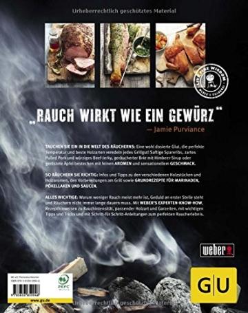 Weber's Smoken: Einfach und unkompliziert mit Grill und Räuchergrill (GU Weber's Grillen) - 2