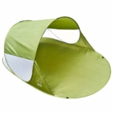 GOODS+GADGETS Canyon Cruise Strandmuschel Pop Up Strand-Zelt Windschutz am Strand Wurfzelt Blitzschnell Selbstaufbauendes Sonnensegel Outdoor Zelt Automatik Muschel mit UV-Sonnenschutz - 1