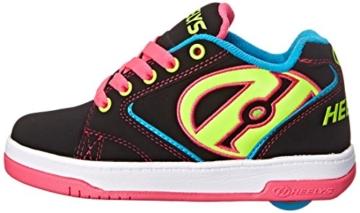 Heelys Mädchen Propel 2.0 770512 Sneakers, Mehrfarbig (Black/Neon Multi), 34 EU (2 UK) - 3