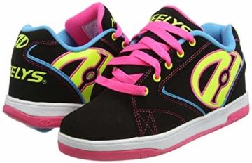 Heelys Mädchen Propel 2.0 770512 Sneakers, Mehrfarbig (Black/Neon Multi), 34 EU (2 UK) - 5