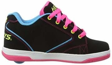 Heelys Mädchen Propel 2.0 770512 Sneakers, Mehrfarbig (Black/Neon Multi), 34 EU (2 UK) - 7