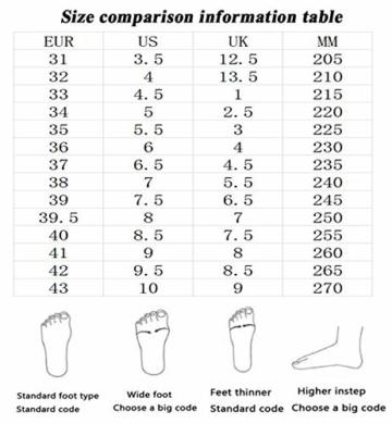 NNN Sportschuhe Skateboard Outdoor Gymnastik Turnschuhe Jungen Mädchen Freizeitschuh Schuhe Mit Rollen Drucktaste Einstellbare Skateboardschuhe Für Kinder Mädchen Junge Erwachsene,White1-42… - 7